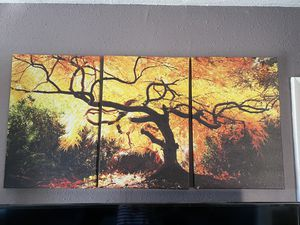 Canvas 3 cuadros de decoración $10 for Sale in West Covina, CA