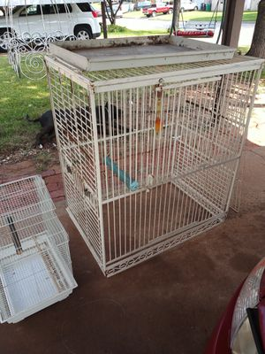 Bird cage 24x36x40 and the small one for Sale in Oklahoma City, OK