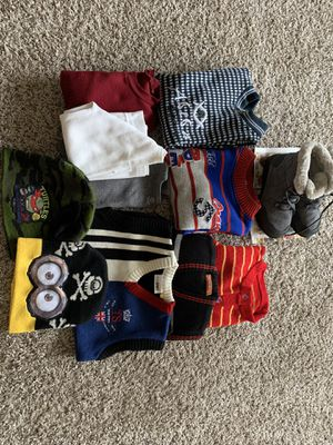 MOVING OUT BY 31st JANUARY BOYS WINTER CLOTHES AND SNOW BOOT for Sale in Eureka, MO