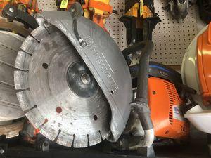 "Husqvarna K970 Gas Powered 14"" Concrete Saw for Sale in Hialeah, FL"