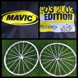 Mavic Ksyrium Limited Edition Wheelset 700c Shimano SRAM 10/11 Speed Road Bike for Sale in West Hills,  CA