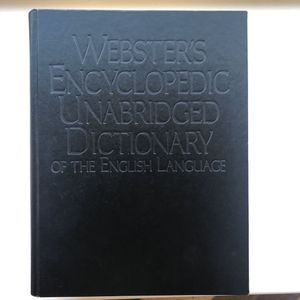 Webster's Encyclopedia Unabridged Dictionary for Sale in Madera, CA