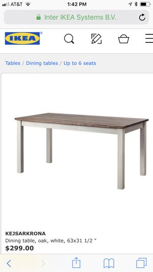 Dining table, IKEA for Sale in Fairfax, VA