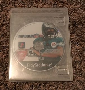 PS2 Madden 06 game for Sale in Peoria, IL