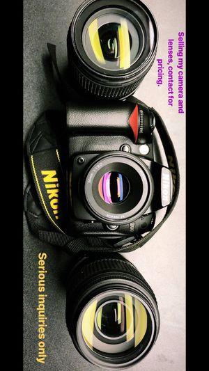 Nikon D90 and lenses for Sale in Atlanta, GA