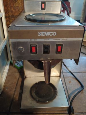 Newco Double Coffee Maker for Sale in DAYT BCH SH, FL