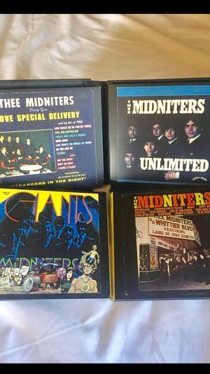 Thee midnighters complete cd collection like new 4 cds $50 for Sale in Fontana, CA