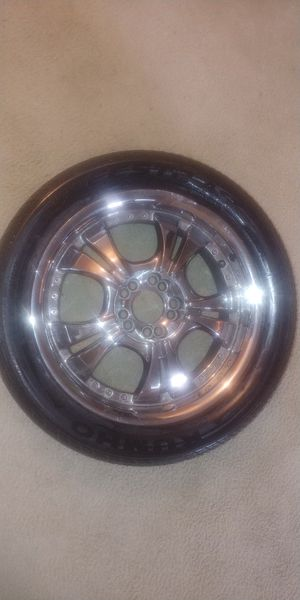 Rims and Tires (17') for Sale in Fayetteville, GA