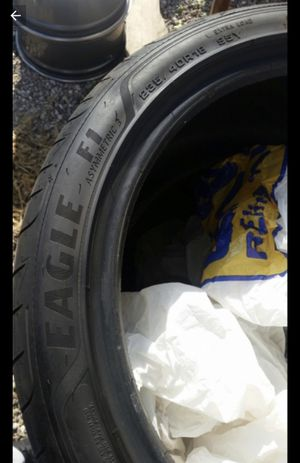 235 40 18 goodyear eagle f1 tires set of 4 for Sale in Manassas, VA