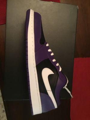 Jordan 1 Low Court Purple for Sale in Arlington, VA
