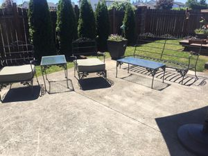 Vintage cast iron outdoor furniture for Sale in Vancouver, WA