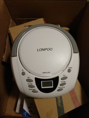 portable Bluetooth boombox CD player for Sale in Melbourne, FL
