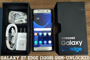 Galaxy S7 Edge (32GB) GSM-UNLOCKED (Like-New) for Sale in Falls Church, VA