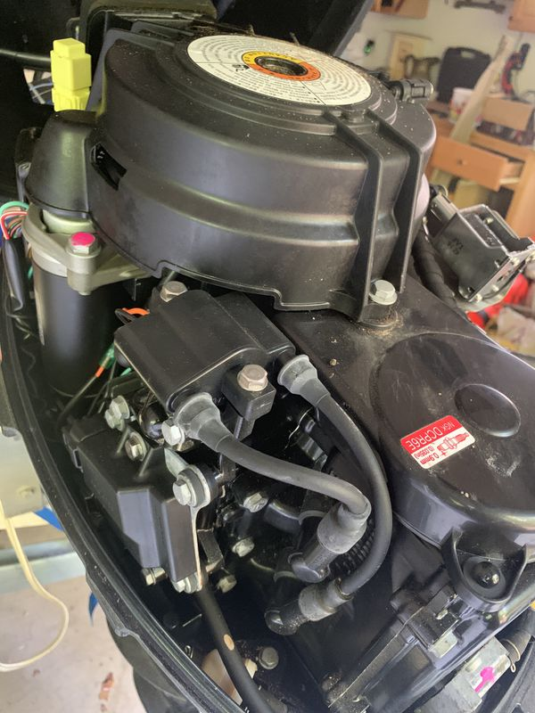 9.8hp boat motor