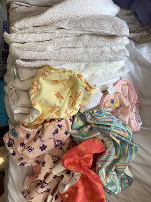 Bundles of clothes diaper for Sale in Irvine, CA