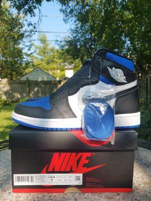 Jordan 1 Royal Toe DS Size 7 for Sale in Skokie, IL