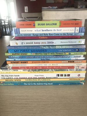 LOT OF 20 HARDCOVER KID BOOKS KIDS for Sale in Bartlett, IL
