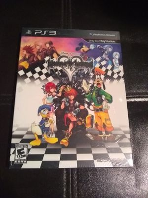 Kingdom Hearts HD 1.5 Remix Limited Edition PS3 SEALED for Sale in Edison, NJ