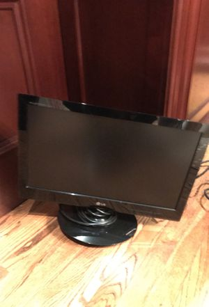 "LG flat panel 20"" display for Sale in Boston, MA"