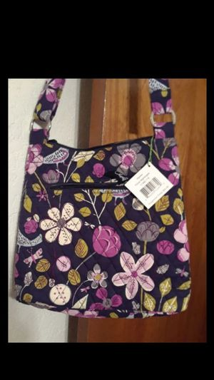 Vera Bradley Hipster Floral Nightingale Crossbody Purse And I'D Keychain Wallet for Sale in Fort Worth, TX