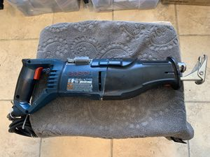 "Bosch RS 12Amp Corded reciprocating saw 3/4"" 10mm. for Sale in Tucson, AZ"