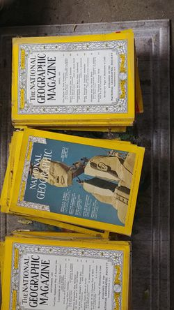 National Geographic Magazine s for Sale in Kendall,  NY