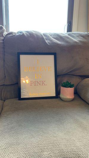Pale pink bedroom decor set for Sale in Auburn Hills, MI
