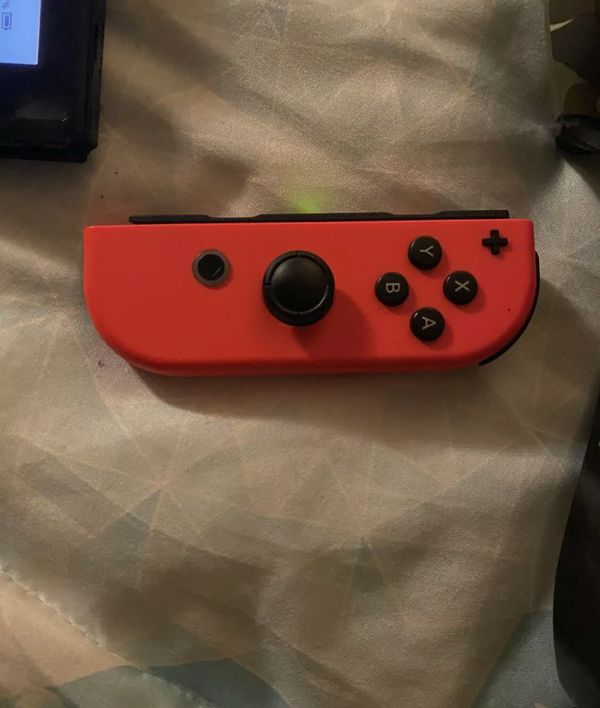 Nintendo Switch Neon Red and Neon Blue JoyCon Console