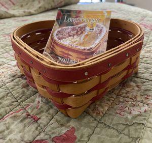 Longaberger basket for Sale in Las Vegas, NV