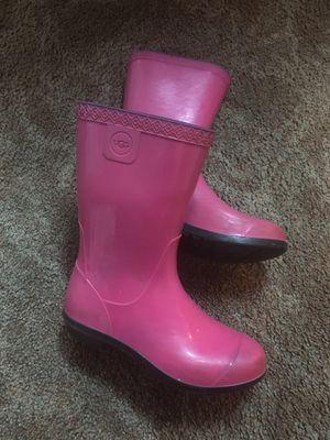 UGG girl rain boots size 1-2 for Sale in Kirkland, WA