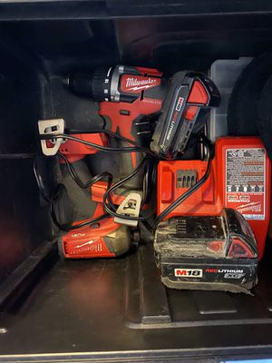 Milwaukee m18 Set. Impact Surge for Sale in Round Rock, TX