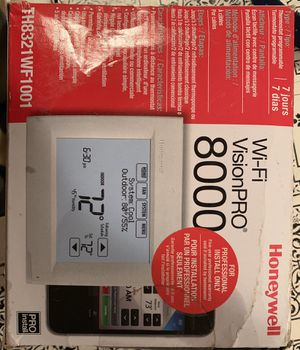 WiFi touch screen thermostat brand new for Sale in Piedmont, SC