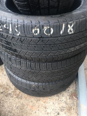 Have set of tires Michelin 2456018 for Sale in Durham, NC
