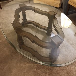 Glass Top Coffee Table for Sale in Waynesburg, PA