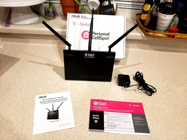 T-Mobile (TM-AC1900) By ASUS Wireless-AC1900 Dual-Band Gigabit Router