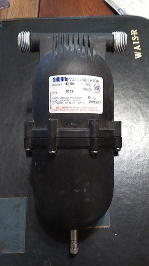 Shurflo accumulator tank 30 psi for Sale in Chico, CA