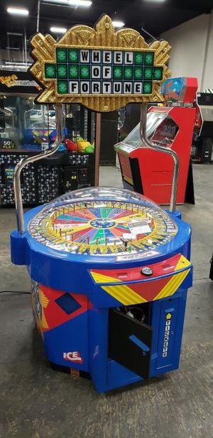 Wheel of fortune arcade game for Sale in Rialto, CA