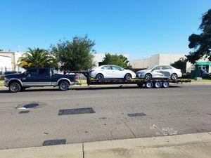 35' Gooseneck flatbed trailer $6,000 obo for Sale in Sausalito, CA