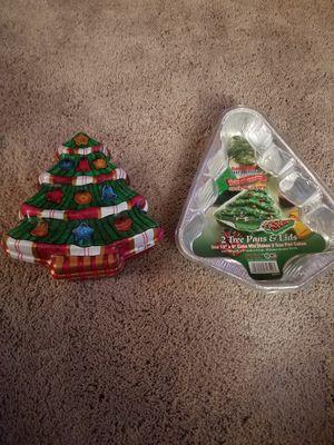 Christmas baking pans for Sale in Berkley, MA