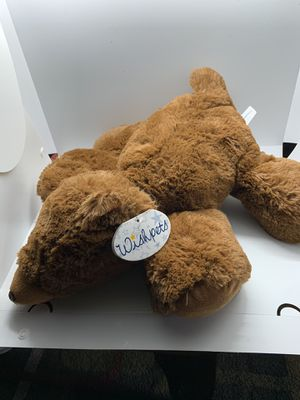 """15"""" wishpet teddy bear super soft and floppy for Sale in Sherwood, OR"""