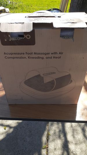 Naipo foot massager with air compression heat and kneading for Sale in Sacramento, CA