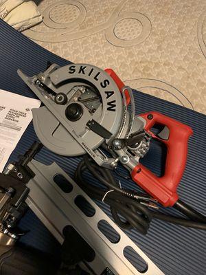 Hitachi gun or Metabo nail gun and skilsaw for Sale in Phoenix, AZ