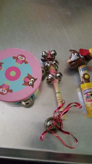 3 piece attention getter kids toys for Sale in Houston, TX