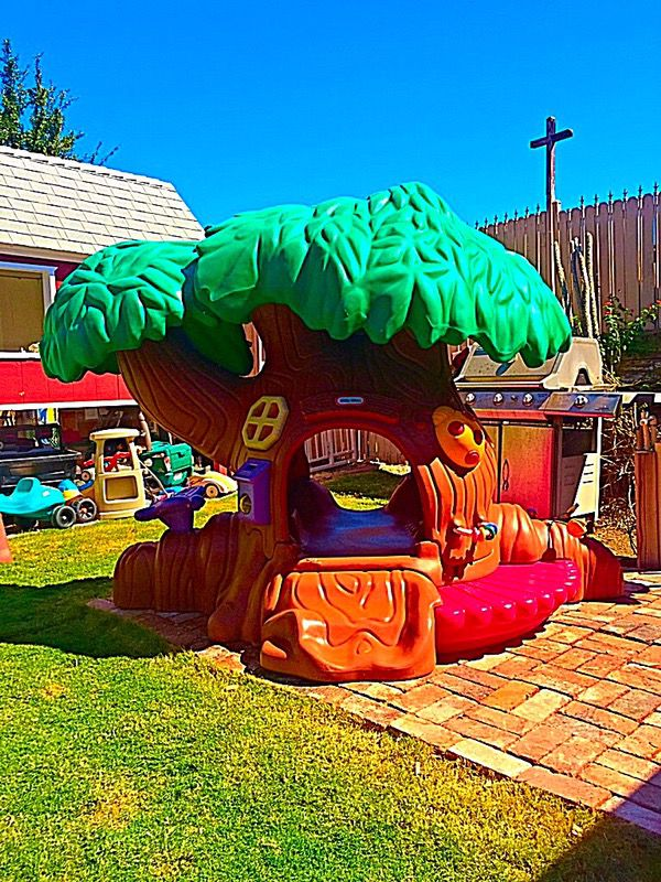 Little Tikes Commercial Tot Tree Treehouse Playset For