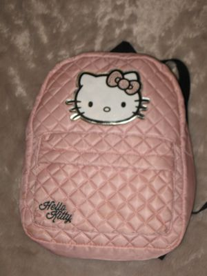 Hello Kitty Kids Girls 3-6Y Satin Pink Backpack - p/u Panorama City - NEW for Sale in Los Angeles, CA