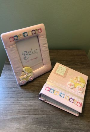 Baby Girl photo frame & Pictures Book - Brand New for Sale in Charlottesville, VA