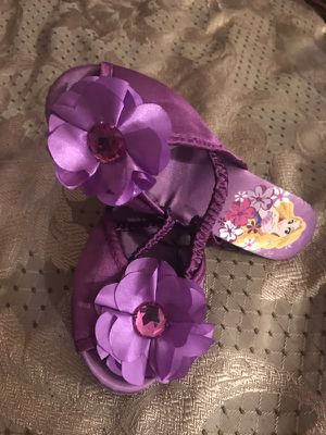 Rapunzel Disney princess open back shoes size 11/12 for Sale in Staten Island, NY