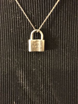 Tiffany & co. Padlock necklace locket for Sale in Norwalk, CA