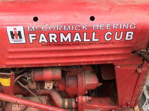 Mc Cormick -Deering Farmall Cub Tractor for Sale in Prunedale, CA
