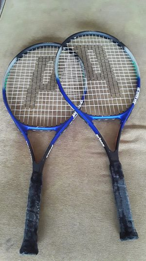 2 tennis rackets for Sale in Houston, TX
